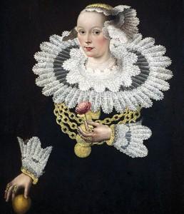 Anna Rosina Tanck, Ehefrau von Johann Marquard, um 1640