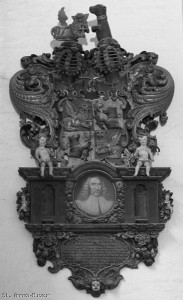 Johann Marquard, Epitaph im Museum St. Annen