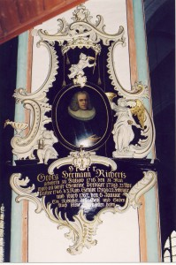 Epitaph auf Georg Herrmann Richertz in der Jacobi-Kirche, Lübeck