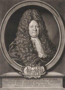 Gotthard Johann von Marquard, 1645-1710