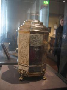 Silberkanne von Caspar Rist, Nationalmuseum in Helsinki