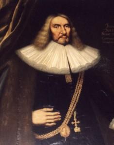 Bürgermeister Johann Marquard (Bildnis im Aufgang des alten Rathauses in Lübeck), um 1668