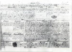 Die Rist-Ahnentafel von 1790