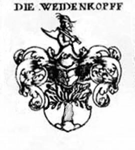 Weidenkopf-Wappen, aus Siebmacher, Speyer RKG