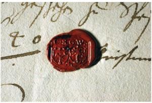 Siegel Christina Steuernagel geb. Weidenkopf v. 1640 E6 Nr